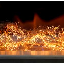 GLOW FLAME EMBER FIBRE